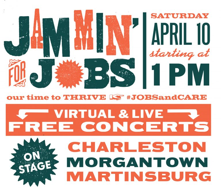 Jammin' For Jobs – Free Concert – April 10th